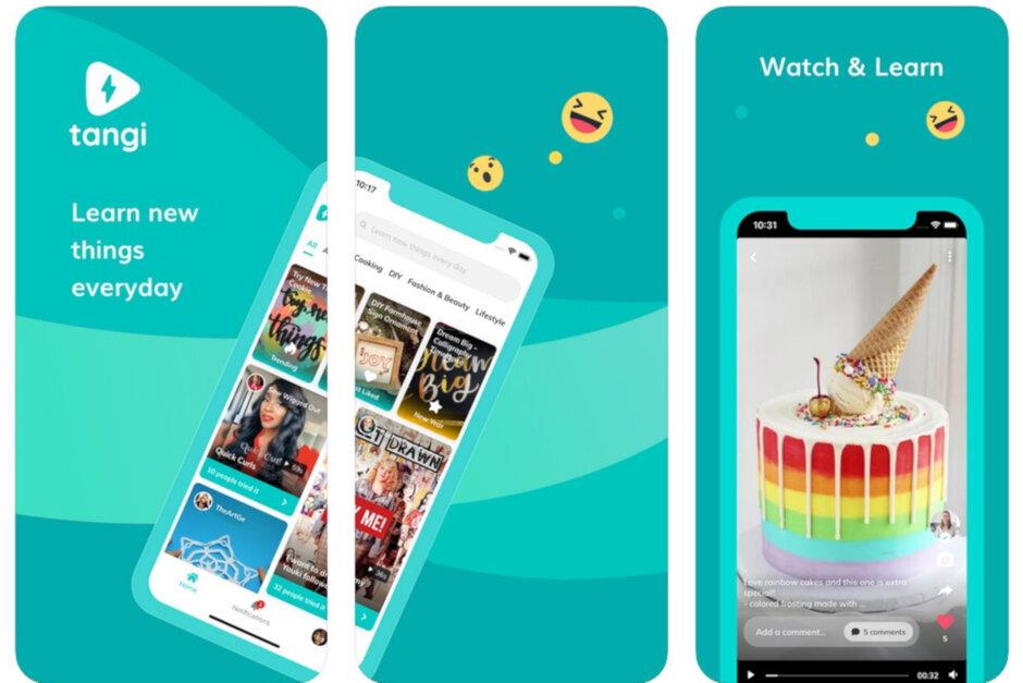 谷歌的短视频应用Tangi现在可以启发安卓用户