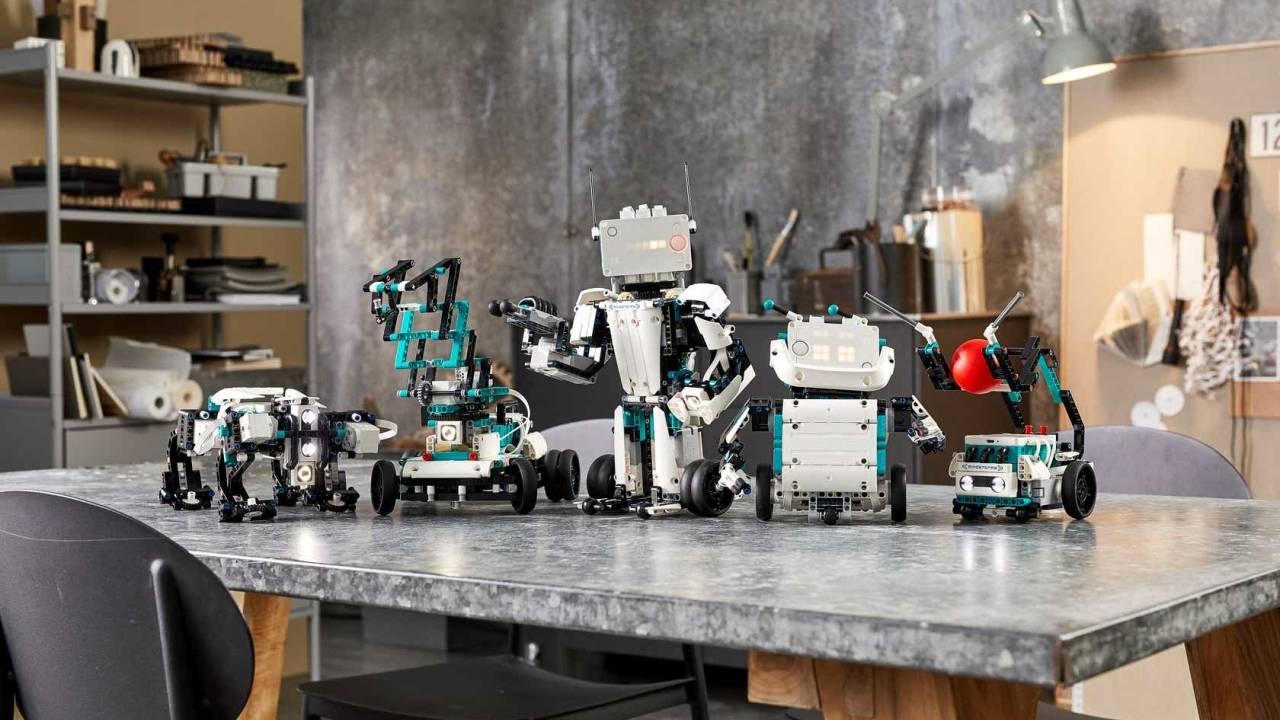LEGO MINDSTORMS机器人发明家复兴了DIY机器人品牌