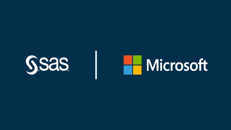 微软宣布与SAS建立战略合作伙伴关系