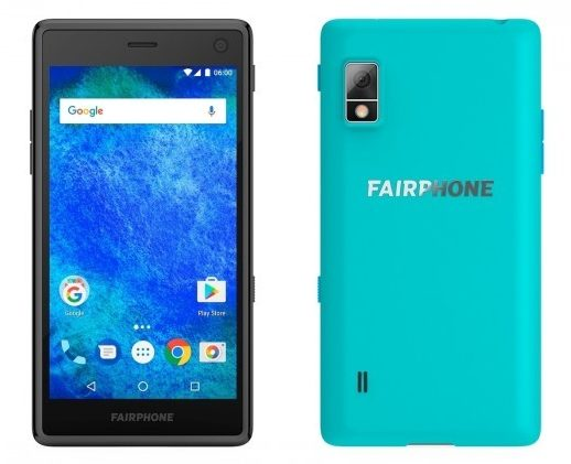 Fairphone 2于2015年推出,更新了Android 9 Pie