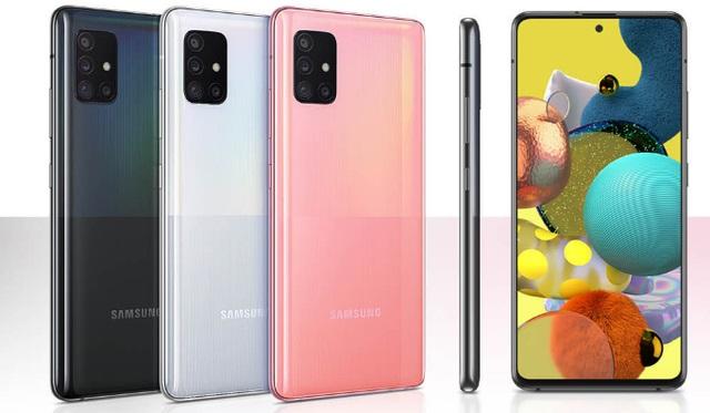三星Galaxy A51 5G和Galaxy A21s在法国亮相
