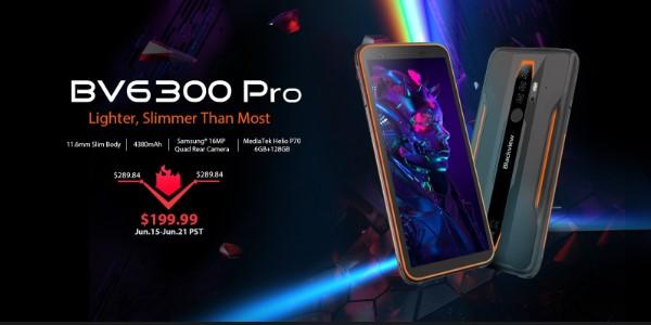 Blackview BV6300 Pro坚固耐用的智能手机以199美元的折扣价提供