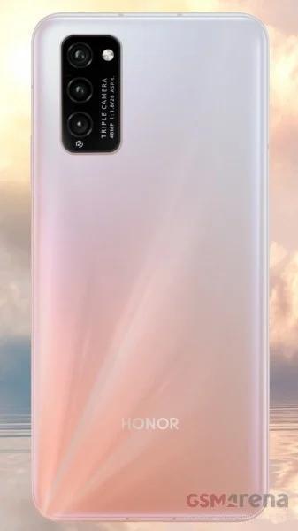 荣耀30 Lite 5G带有48MP三镜头泄漏