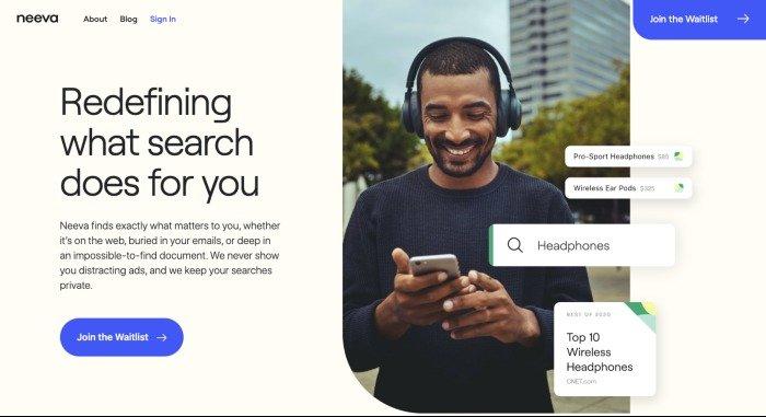 """谷歌前高管推出了名为"""" Neeva""""的无广告搜索引擎"""