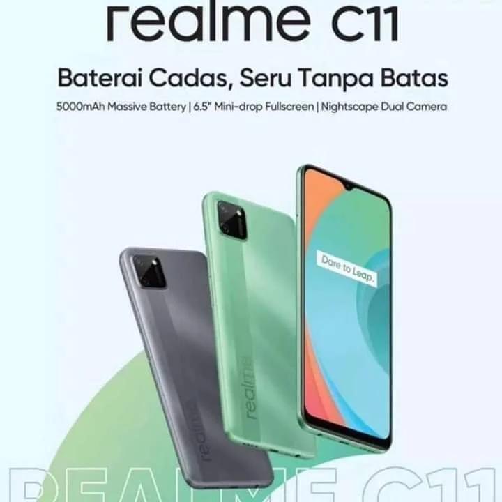 这就是Realme C11的样子