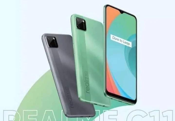 Realme C11关键规格表面:6.5英寸屏幕,Helio G35、5000mAh电池等!