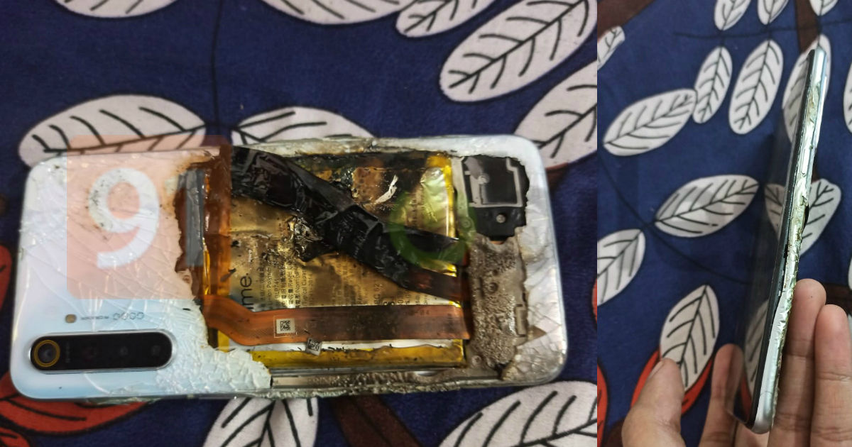 """日前,Realme XT在印度爆炸,公司将其归咎于""""外力"""""""