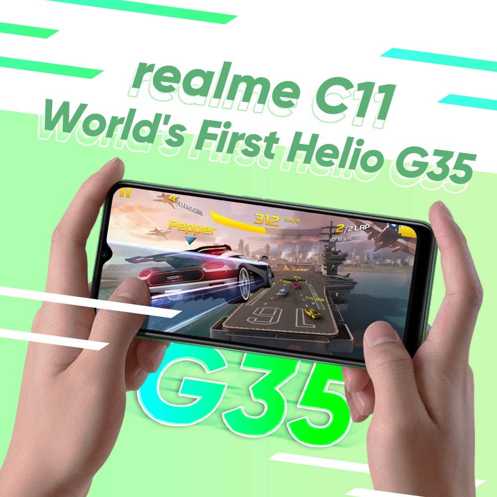 Realme C11和Helio G35将于6月30日在马来西亚推出