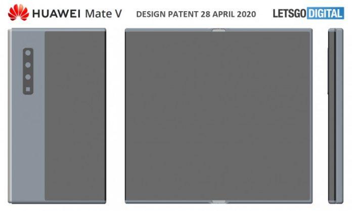 华为Mate V商标可能已向内折叠的可折叠电话注册商标