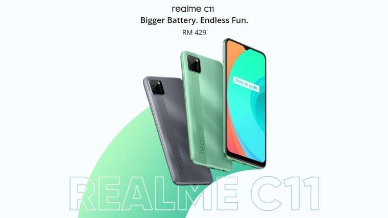 Realme C11将于7月14日在印度推出