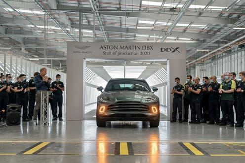 新型阿斯顿·马丁DBX SUV投入生产