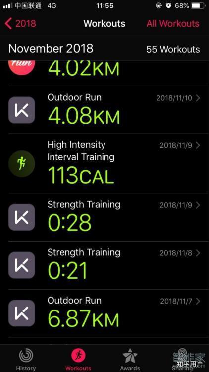 keep与iwatch如何实现同步健身?
