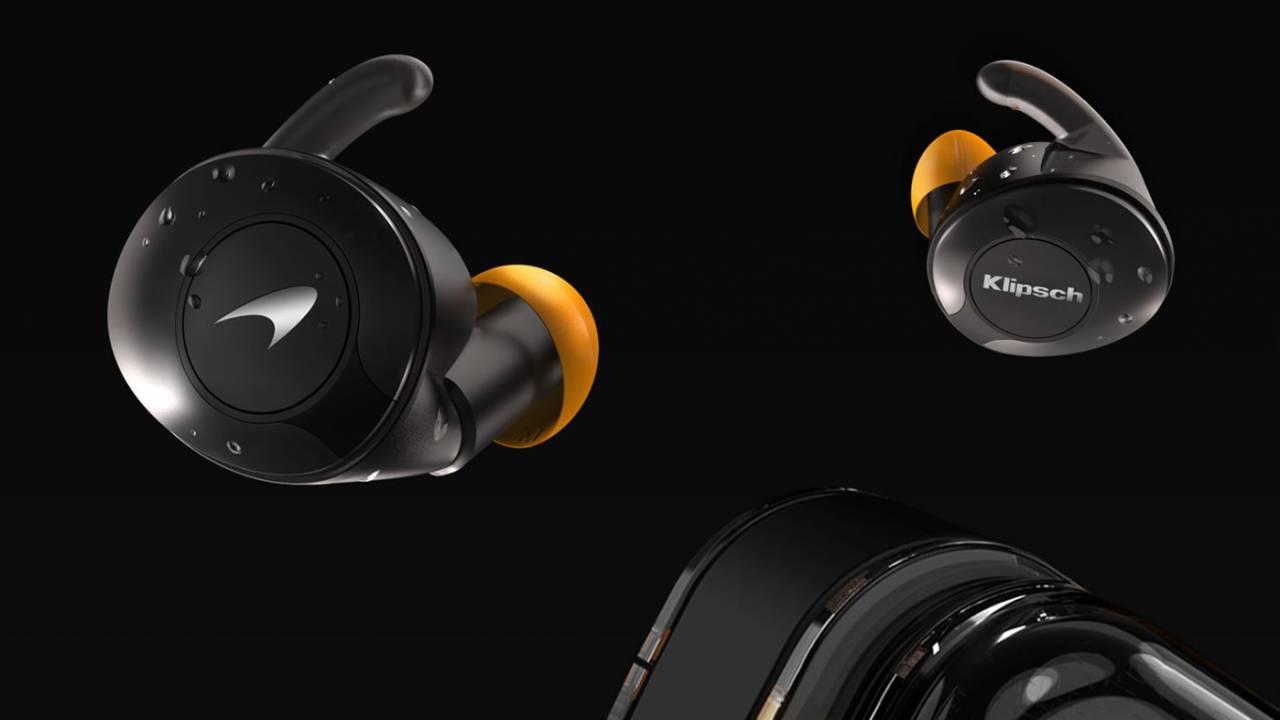 Klipsch T5 II True Wireless耳塞包括特别的McLaren Edition