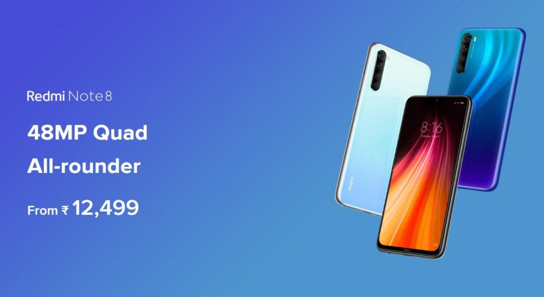 Redmi Note 8在印度再次涨价