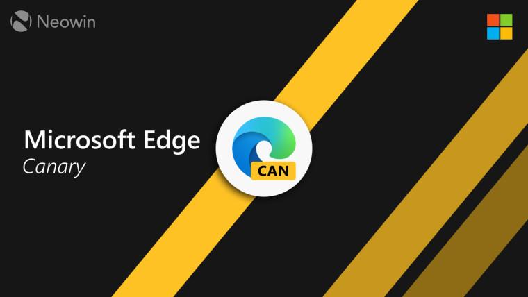 "Edge Canary通过隐藏标志带来""后退时空""快捷方式"