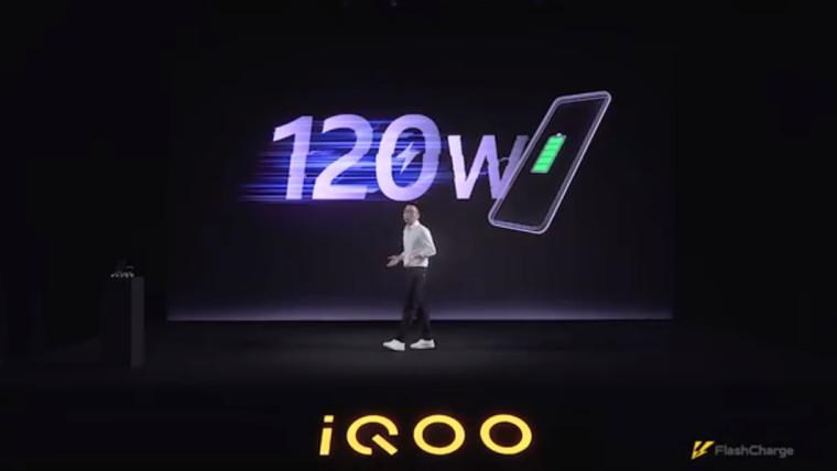 Vivo宣布为其下一代iQOO手机提供120W快速充电