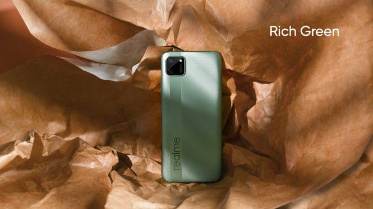 配备Helio G35的Realme C11在印度推出,售价为7,499卢比(100美元)