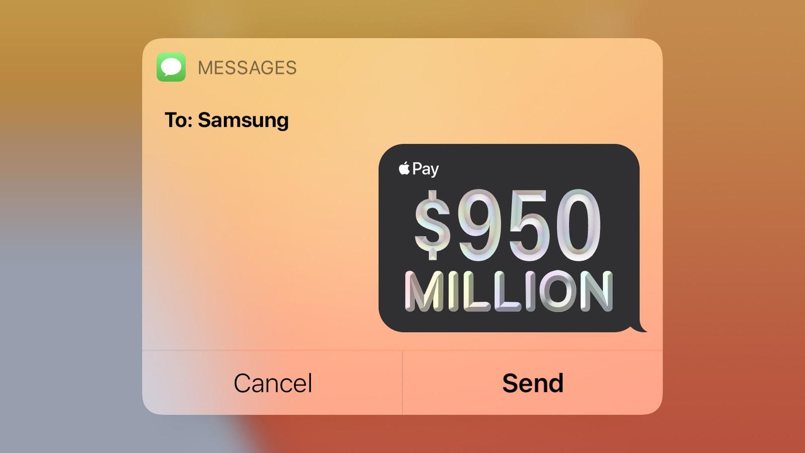 苹果向三星支付了9.5亿美元的OLED面板订单