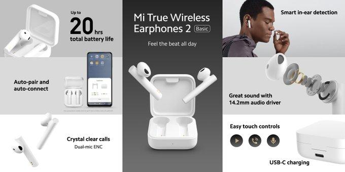 宣布推出Mi TV Stick,Mi曲面游戏显示器34英寸和Mi True无线耳机2 Basic