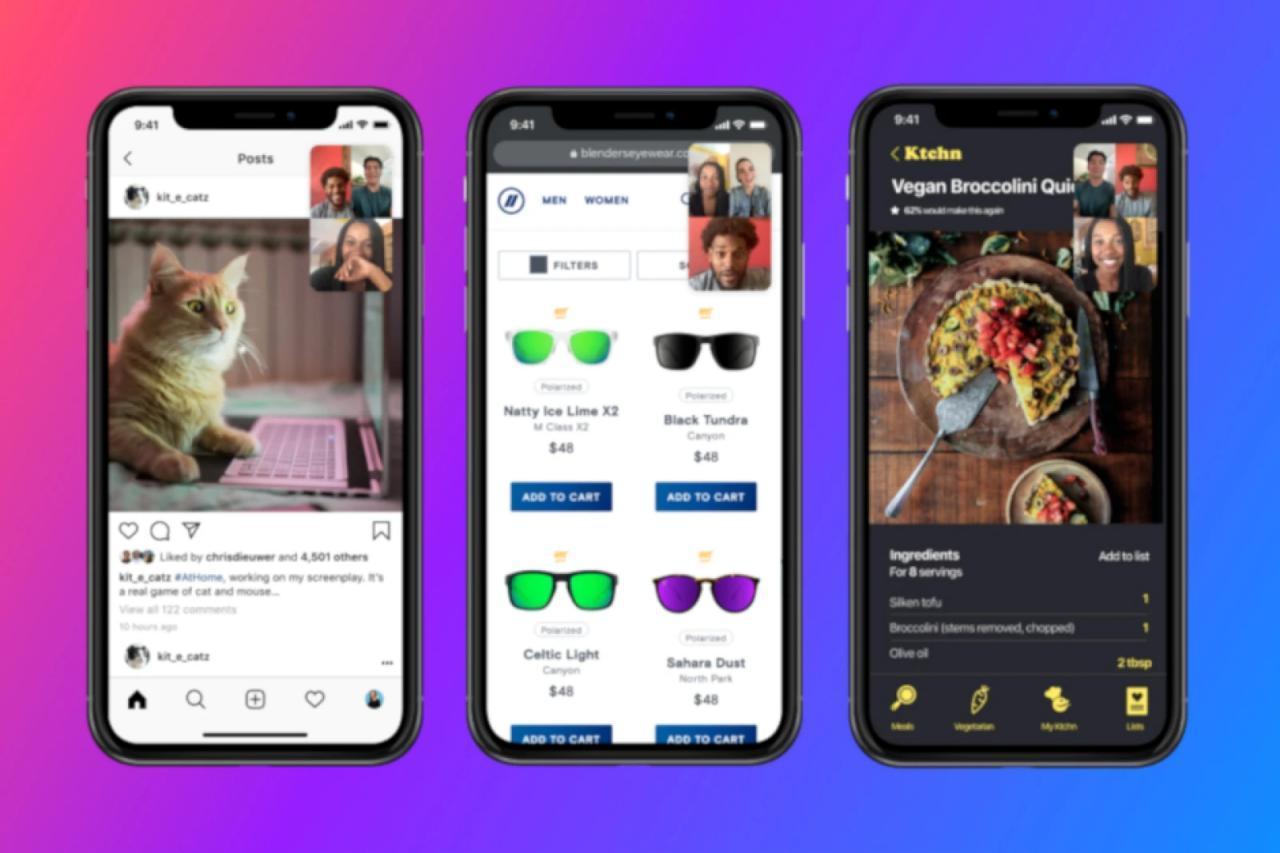 Facebook Messenger在最新更新中获得了屏幕共享功能