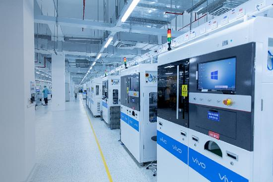 Vivo智能制造工厂在中国开业,年产能为7,000万个