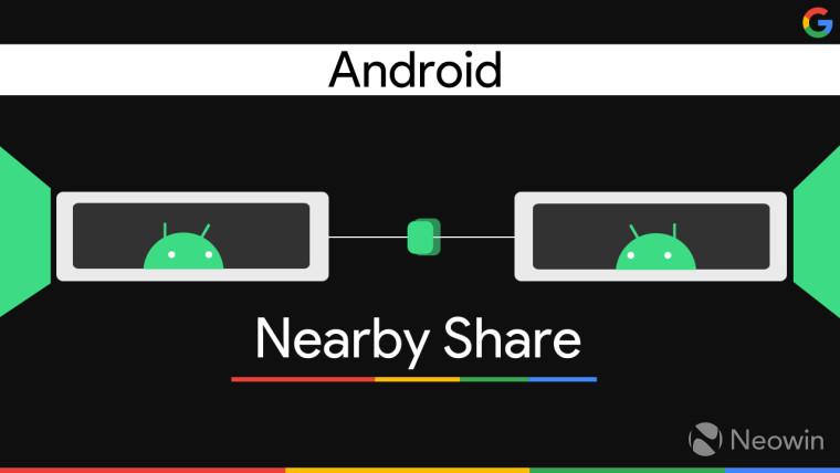 """Google可能会在八月份推出适用于Android 6.0+设备的""""附近共享"""""""