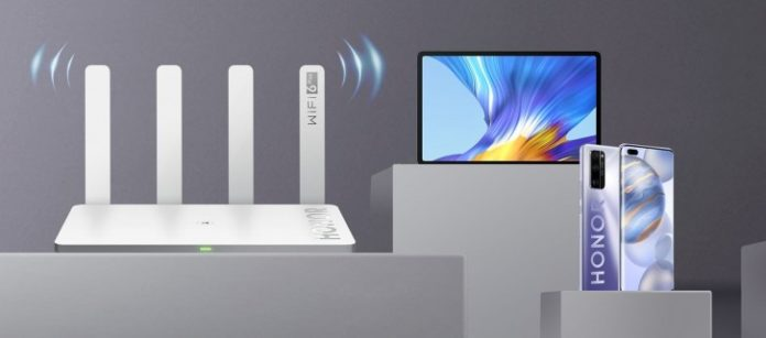 在欧洲推出具有WiFi 6+支持的Honor Router 3