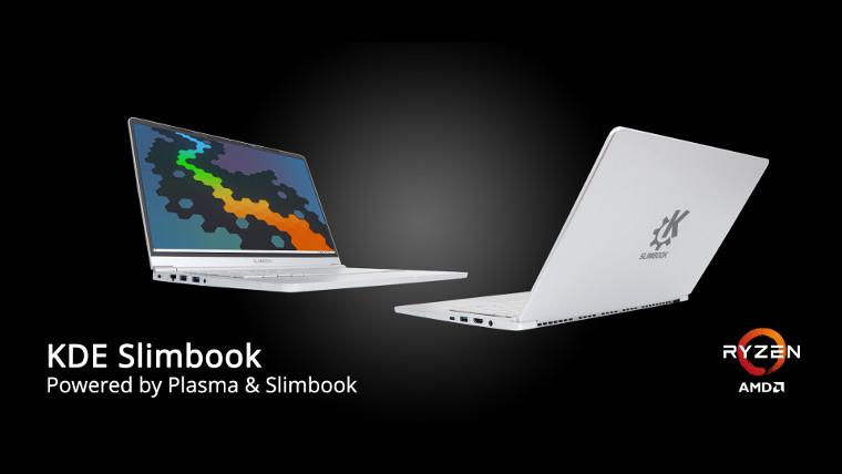 推出带有Ryzen-4000系列处理器的新型KDE Slimbook
