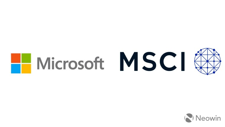 微软与MSCI合作,在全球投资行业进行创新