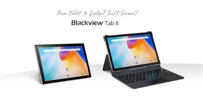 具有4G VoLTE,10.1英寸显示屏和外部键盘支持的Blackview Tab 8的价格为$ 124.99