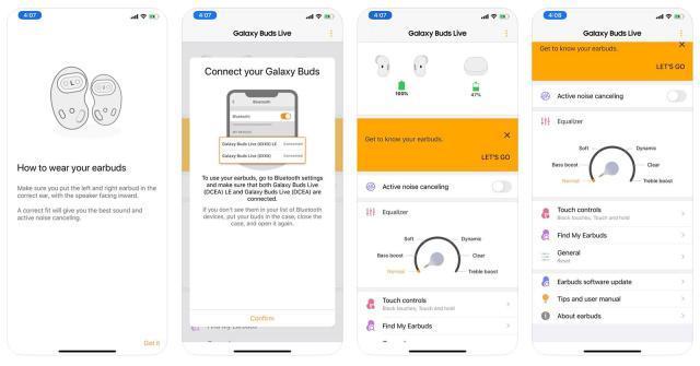 三星的Galaxy Buds Live最早出现在iOS应用中