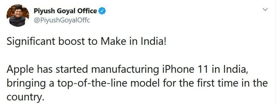 Apple首次在印度组装顶级iPhone