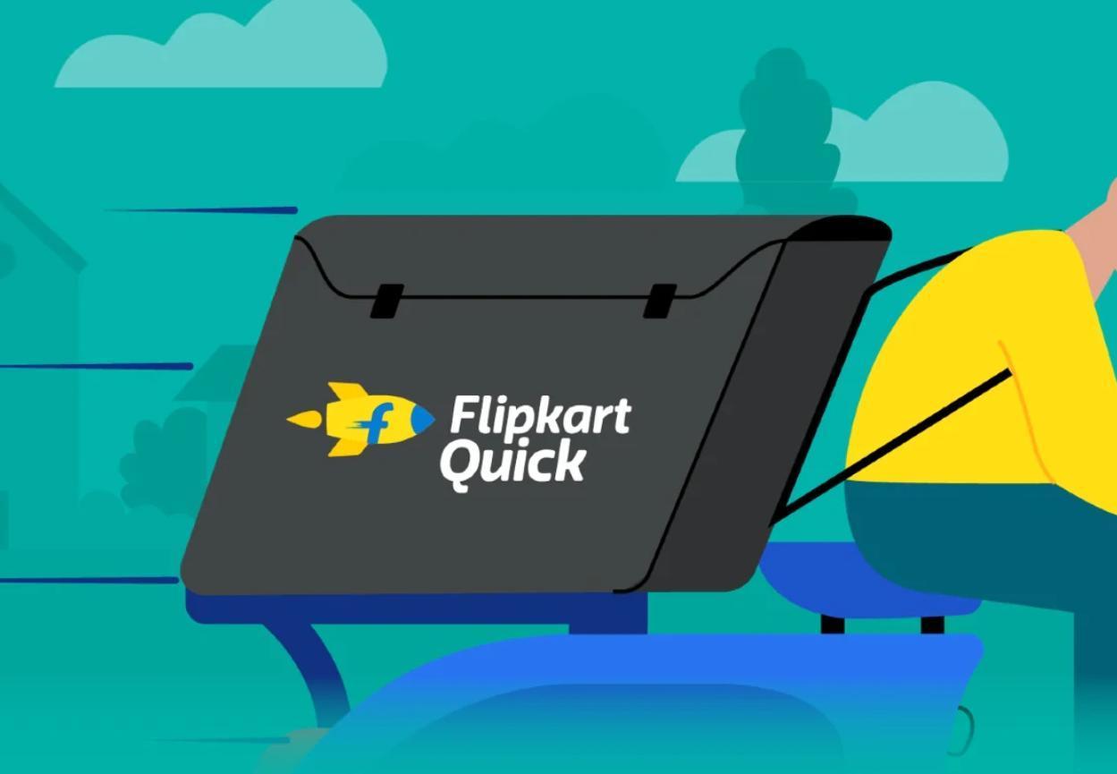 Flipkart Quick推出,提供90分钟的本地交付服务,可处理2,000多种产品