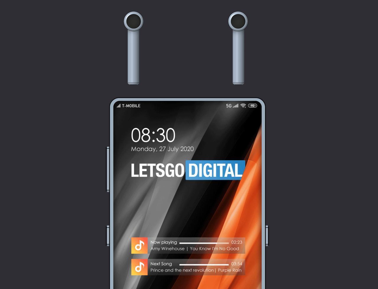 小米为内置无线耳机的智能手机申请了专利