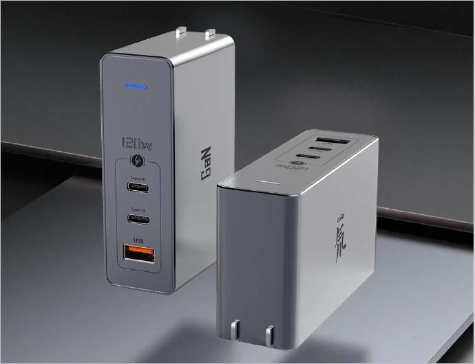 Nubia的120W GaN充电器比MacBook的96W适配器小25%,更时尚,功能更强大