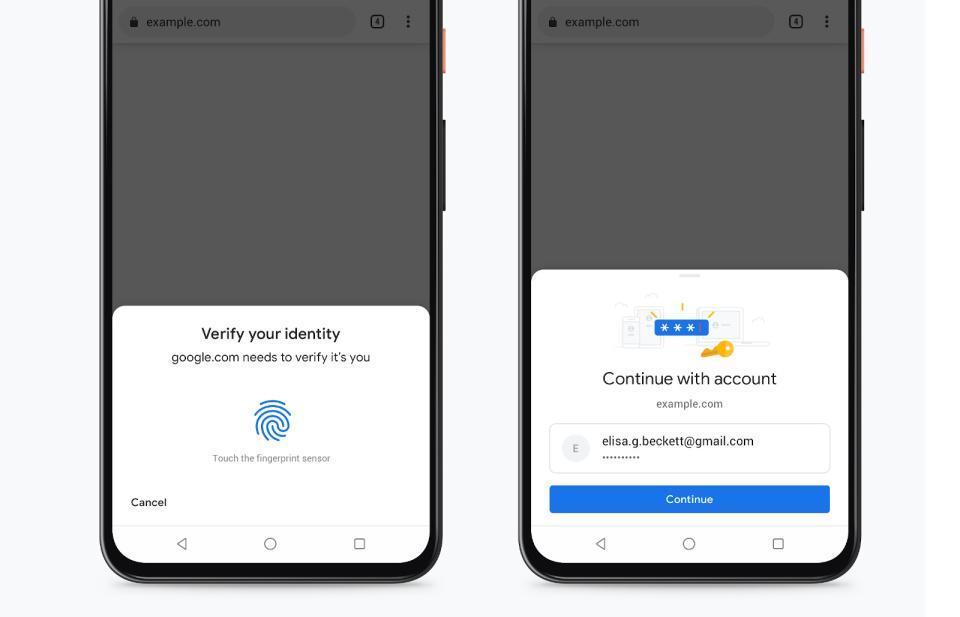Google通过生物特征识别检查加强了Chrome的自动填充安全性