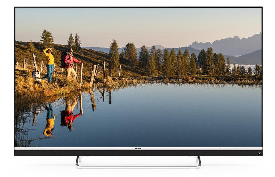 诺基亚65英寸4K智能电视在印度正式上市,售价64999卢比