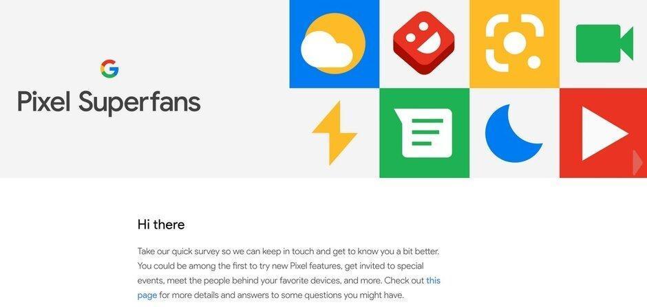 了解有关Google秘密的Pixel Superfan俱乐部的信息