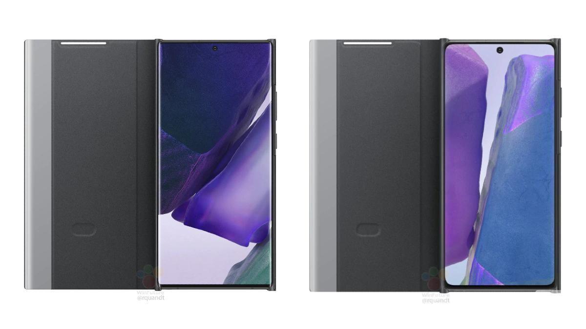 三星Galaxy Note 20系列保护套呈现泄漏
