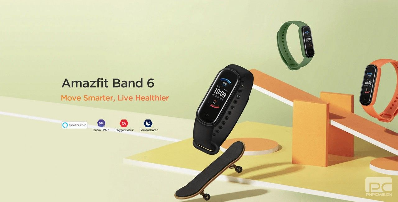 Amazfit Band 6在AliExpress上上市–具有SPO2监控和Amazon Alexa的Mi Band 5