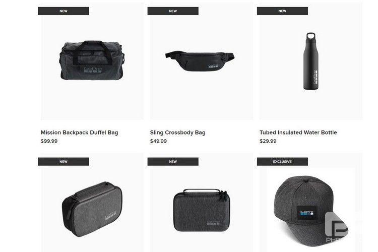 "GoPro的新型""生活方式装备""产品系列包括一个GoPro水壶和一个盖子"