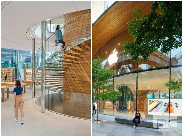 苹果在曼谷开设第一家全玻璃苹果商店