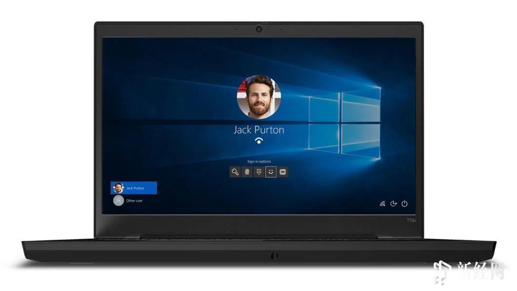 新款联想ThinkPad T15p具有GTX 1050和更厚的机箱中更好的可升级性