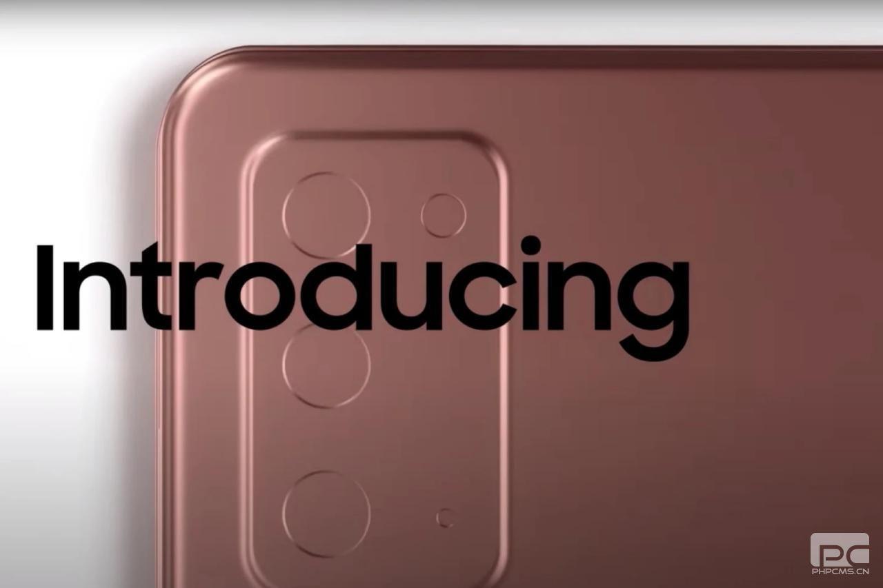 三星继续通过新的Unpacked预告片宣传Galaxy Note 20 5G事件