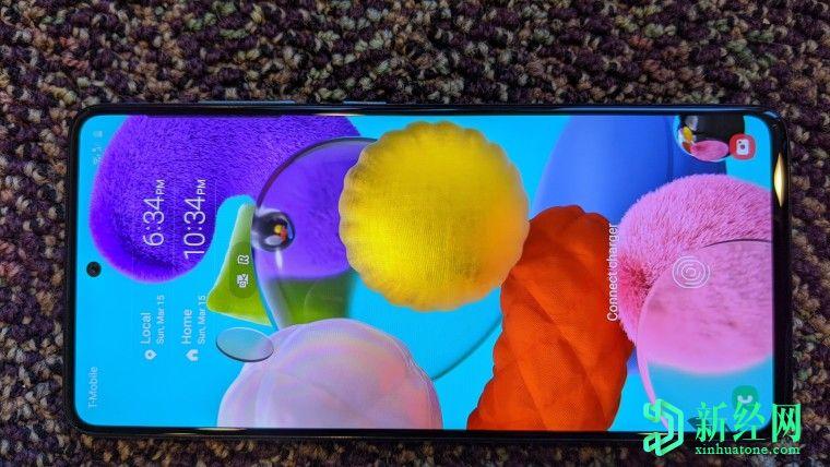 三星8月7日将5G版Galaxy A51引入美国