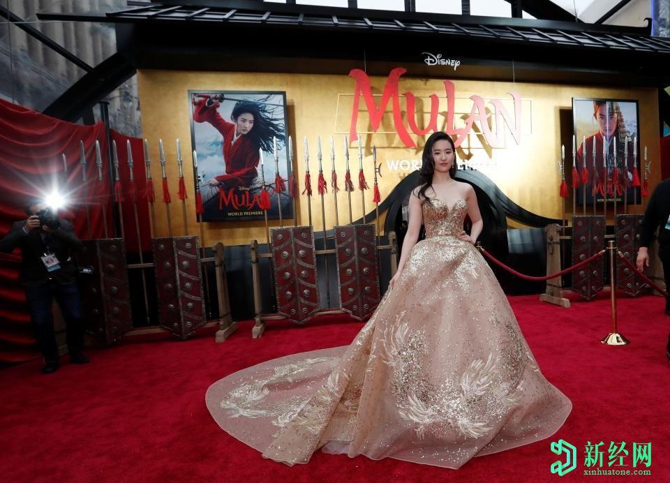 《花木兰》将于9月4日在迪士尼+上首映,售价30美元