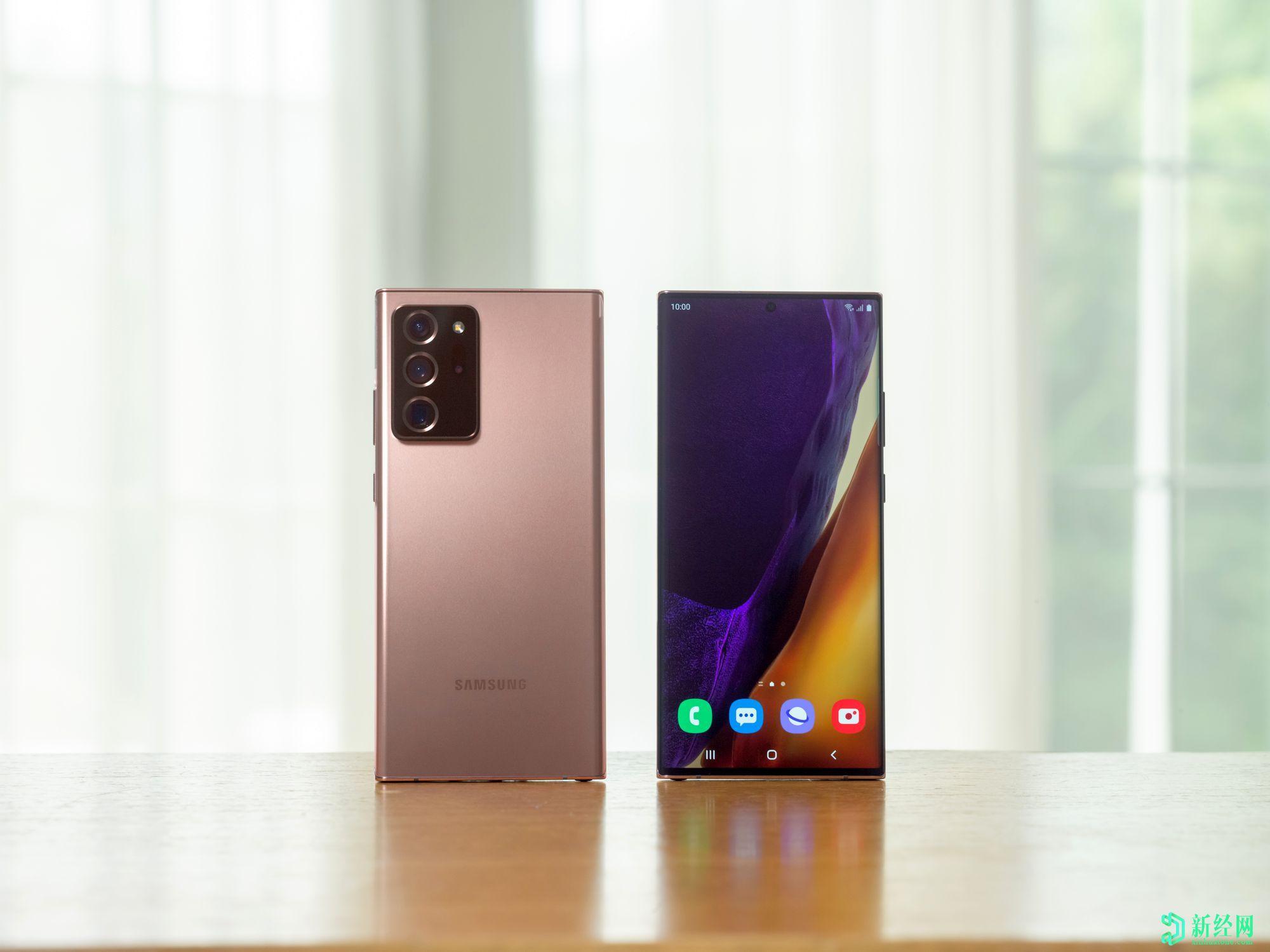 三星Galaxy Note 20和Galaxy Note 20 Ultra正式发布!