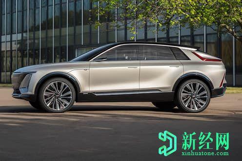 凯迪拉克Lyriq开始推出通用汽车的EV