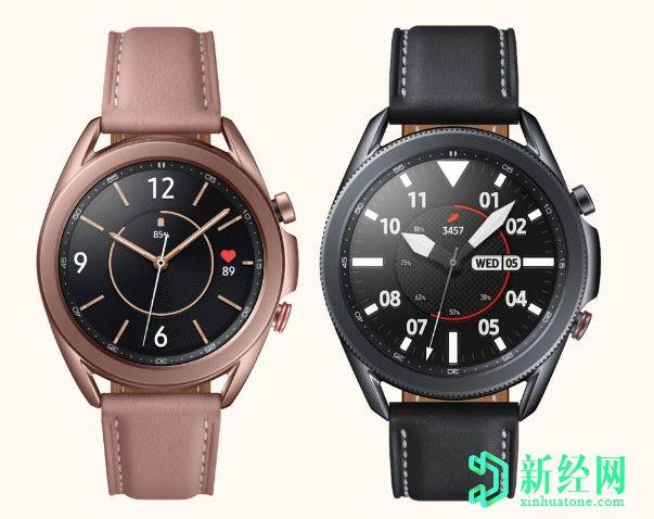 三星Galaxy Watch3获得SP02监视,高级运行分析等最新更新