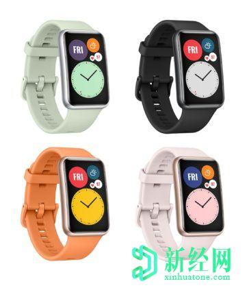 华为Watch Fit泄漏:渲染,功能和价格